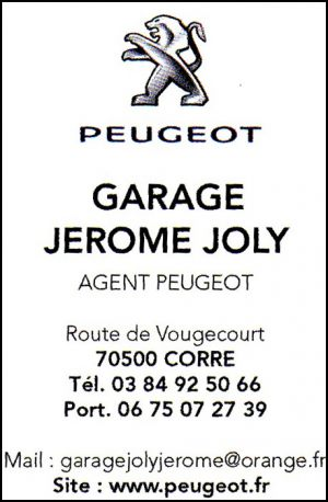 PEUGEOT - Garage Jerome JOLY